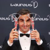Federer und Williams bei Laureus top