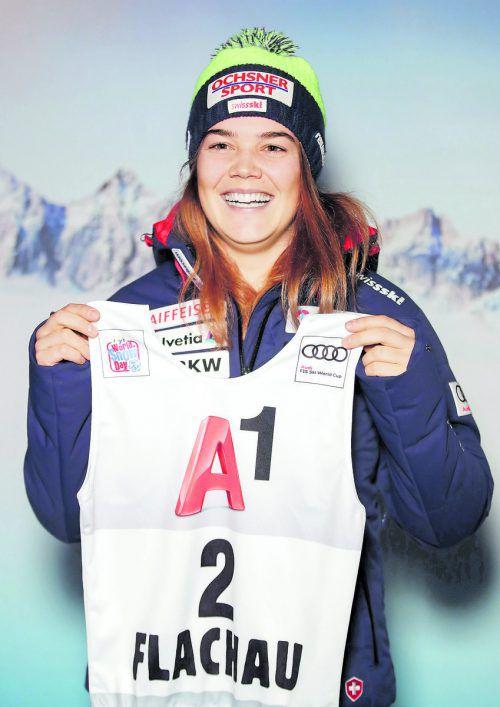 Saisonende nach Sturz im Training: Melanie Meillard.gepa