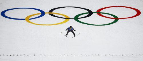 Schlussspringer Michael Hayboeck landete gestern bei 133,5 und 136,5 Metern und bewies diesmal Konstanz. Für die ÖSV-Adler blieb im Teambewerb am Ende aber nur Platz vier.AP