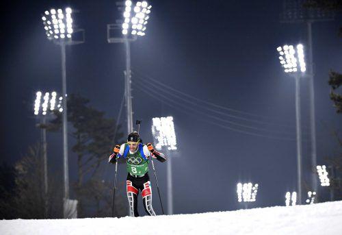 Simon Eder feierte gestern seinen 35. Geburtstag. Eine Medaille gab es für ihn und seine Teamkollegen zwar nicht, dafür einen achtbaren vierten Platz.Reuters