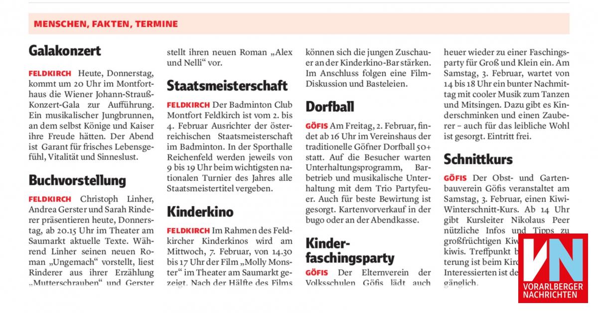 Gemeinde Gfis: Vereine