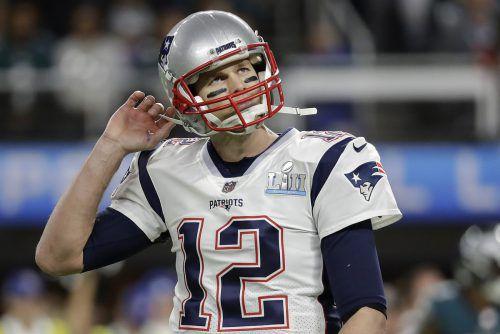 Spielmacher Tom Brady hat einen baldigen Rücktritt erneut dementiert. AFP