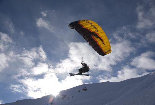 Stefan Salzgeber ist in der Luft zu Hause. Der Comutertechniker aus St. Gallenkirch geht jede freie Minute fliegen.