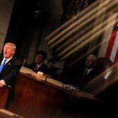 Trumps Rede als Feuer der Spaltung