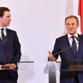 EU-Ratspräsident Tusk pocht auf Kompromissbereitschaft