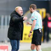 Sturm-Coach gesteht Fehlverhalten ein