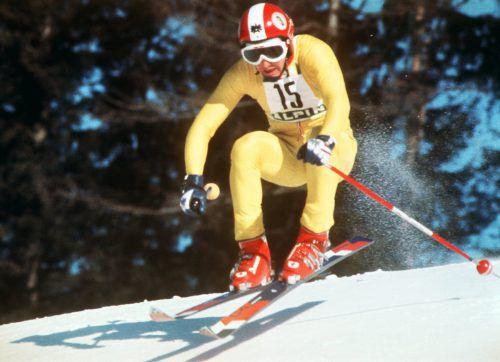 Vor über 40 Jahren raste Franz Klammer bei der Olympia-Abfahrt in Innsbruck zu Gold.APA