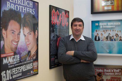 Veranstalter Walter Egle bestätigt Gespräche über Verkauf der Anteile. VN/RP