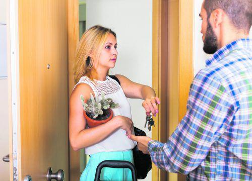 Wenn Paare sich trennen, müssen die Wohndetails geklärt werden.Foto: Shutterstock