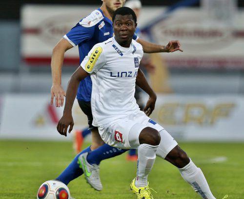 Yusuf Otubanjo spielte eine Saison lang für BW Linz.