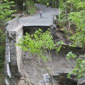 Rappenlochbrücke auf stabilen Beinen