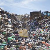 Plastik aus Müll