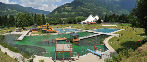 Ab diesem Sommer soll zwischen Alpenbad Montafon und Ill ein neues Hotel realisiert werden. VN/Marent