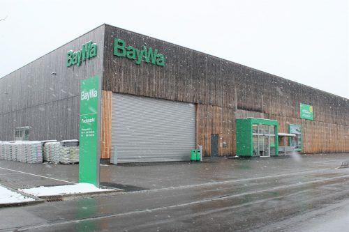 Am Freitag und Samstag wird der neue BayWa-Gartenfachmarkt in Bludenz feierlich eröffnet.VN/js