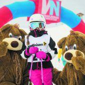 Pures Skivergnügen beim Kids Snow Fun
