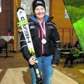 Ski-Schüler mit19 Medaillen