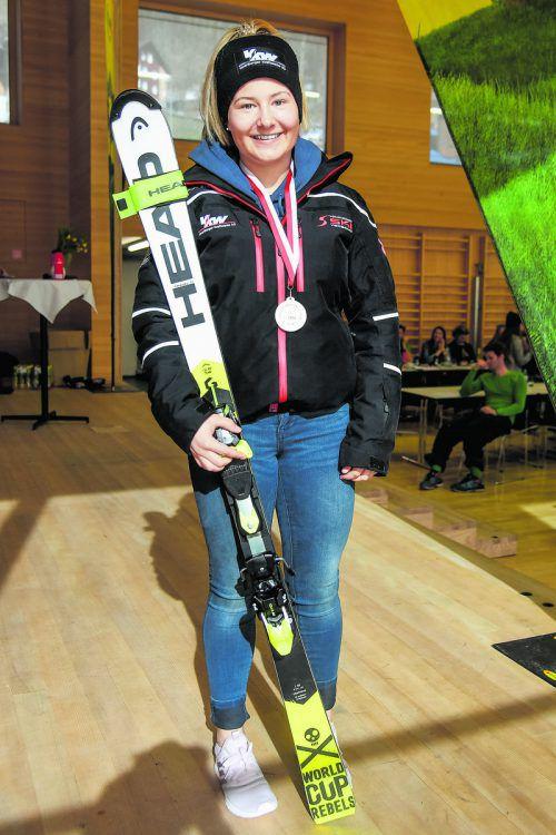 Amanda Salzgeber dominierte bei der ÖSV-Meisterschaft den U16-Bewerb.vn-Lerch