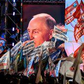OSZE-Beobachter üben Kritik an russischer Wahl