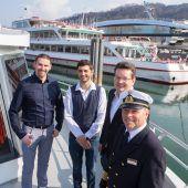 Weiße Flotte sticht in See