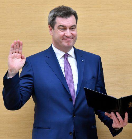 Bayern hat mit dem 51-jährigen Franken Söder einen neuen Ministerpräsidenten. dpa
