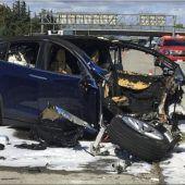 Untersuchung nach Tesla-Crash