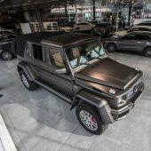 Luxus-Geländewagen: Eines von nur 99 Exemplaren in Dornbirn