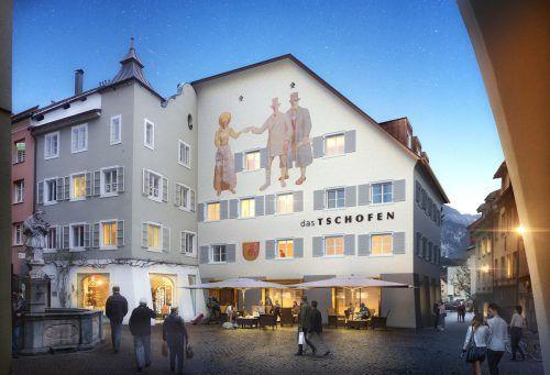 Bereits diesen Herbst soll das neue Stadthotel im Herzen der Bludenzer Altstadt in neuem Glanz erstrahlen. Preite