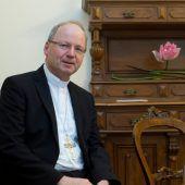 Bischof Benno Elbs beim Glaubensforum