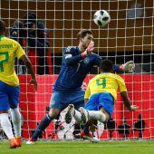 Brasilien verhindert Rekord