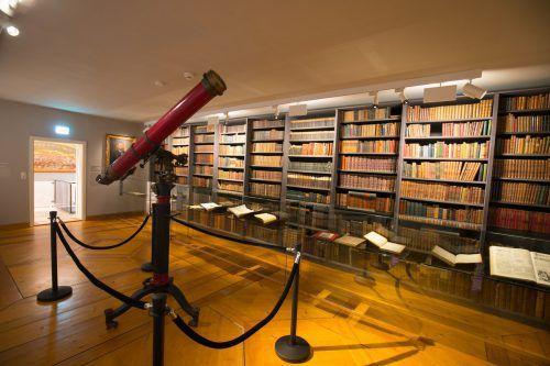 Die Ausstellung zu Feldkirch 800 wurde ins Jahr 2019 verlängert, seitdem sind die Räume ungenutzt.VN/KH