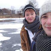 Junger Vorarlberger rettet Frau aus Eisloch