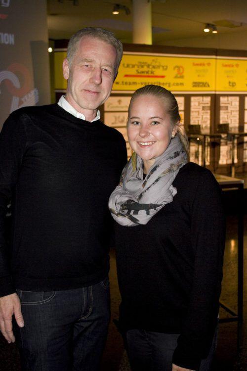 Christian und Alessa Thurnwalder ließen sich das Event nicht entgehen.