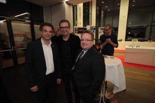 Christoph Jenny, Bernhard Ölz und Thomas Kohlert.