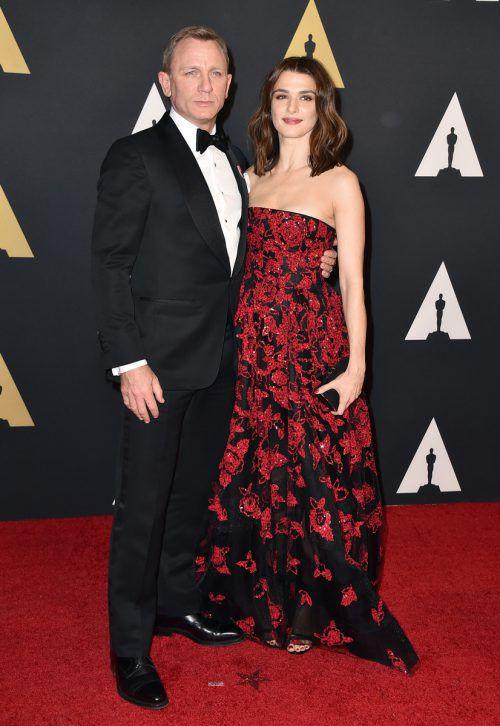 Daniel Craig lebt mit seiner Ehefrau Rachel Weisz in London und New York. Reuters