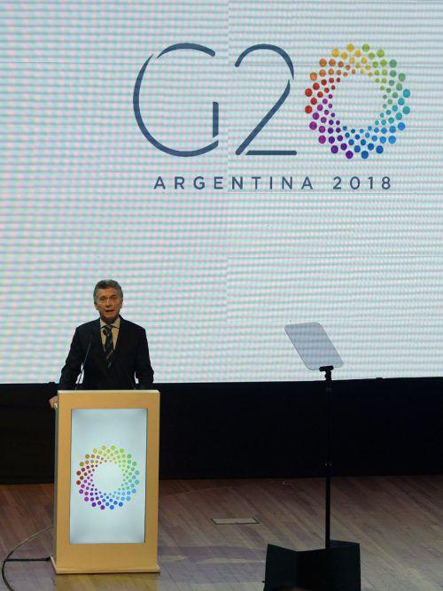 Das G20-Treffen der Finanzminister der 20 wichtigsten Wirtschaftsmächte. AFP