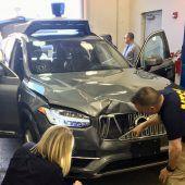 Arizona verbietet Fahrten mit Uber-Roboterautos