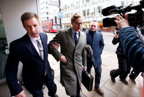 Der Chef der umstrittenen britischen Analysefirma Cambridge Analytica, Alexander Nix, wurde mittlerweile suspendiert.reuters