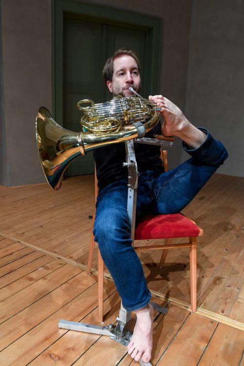 Als Solist bei Dornbirn Klassik gastiert Hornist Felix KlieserLerch
