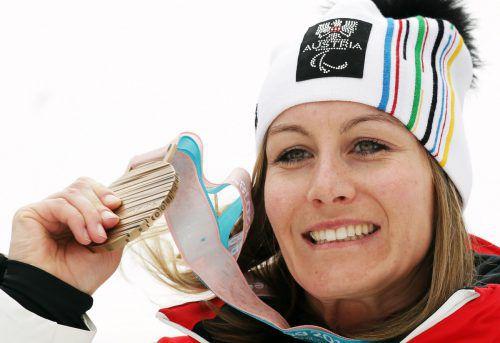 Der Empfang für Monoskifahrerin Heike Eder, Bronzemedaillengewinnerin bei den Paralympics in Pyeongchang, findet am Mittwoch ab 19 Uhr in der Aula der Volksschule Altach statt.ÖPC/Diener