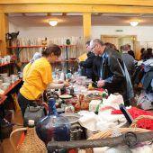 Die Wolfurter Pfadfinder laden zum traditionellen Flohmarkt