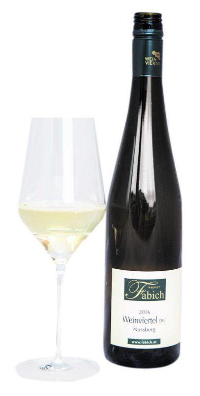 """Der """"Nussberg"""" vom Weingut Fabich: Ein Wein mit frischem Nachgeschmack.VN/BER"""