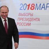 Russen bestätigen Putin eindrucksvoll