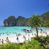 Strand wird vor Touristen geschützt