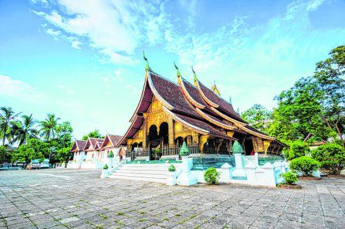 Der Wat Xieng Thong ist eine der ältesten und schönstenTempelanlagen von Luang Prabang.