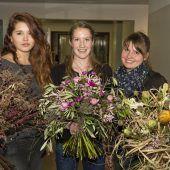 Floristinnen mit fantasievollen Kreationen