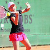 Ambitioniertes Tennistalent