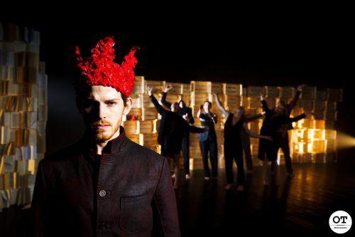 """Die imPerfect Dancers Company präsentiert """"Hamlet"""" als österreichische Erstaufführung.OT Photography"""