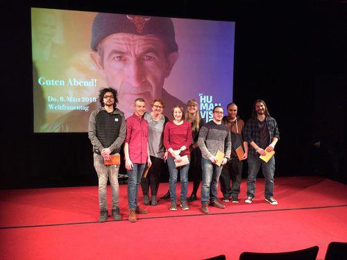Die Offene Jugendarbeit und der Verein Amazone zeigten beim Human Vision Film Festival einen Tagebuch-Slam. erh