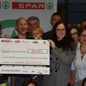 Benefizspiel brachte über 30.000 Euro