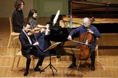 Die Schubertiade in Hohenems wurde mit einem kammermusikalischen Brahms-Abend eröffnet. Schubertiade